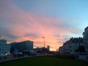 Ciel rosé Nantes